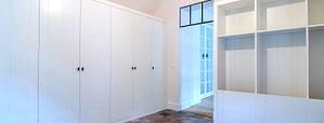 portfolio meubelmaker hirsch, hirsch kasten op maat witte garderobekast