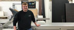junior meubelmaker Martijn Maes