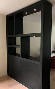 zwarte room divider